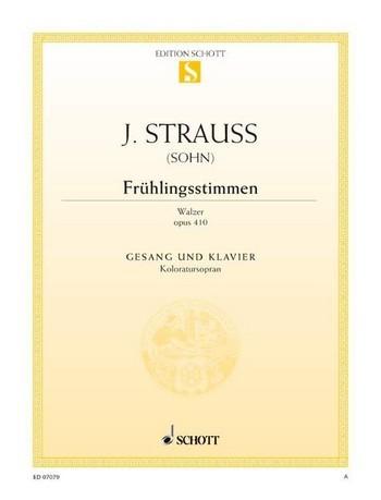 Strauss (Sohn) Johann: Frühlingsstimmen Walzer op 410