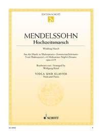 Mendelssohn Bartholdy, Felix (1809-1847): Hochzeitsmarsch, op. 61/9