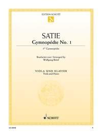 Satie, Erik (1866-1925): Gymnopédie Nr. 1