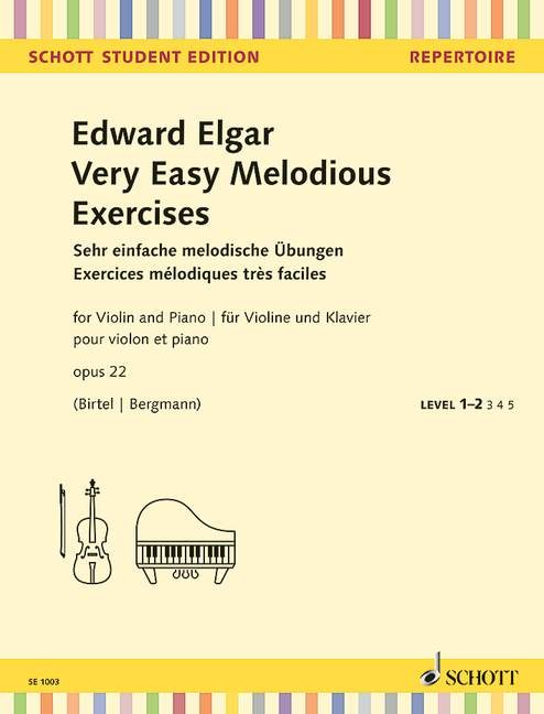 Elgar Edward: Very easy melodious exercises op 22