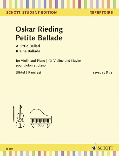 Rieding Oskar: Petite Ballade
