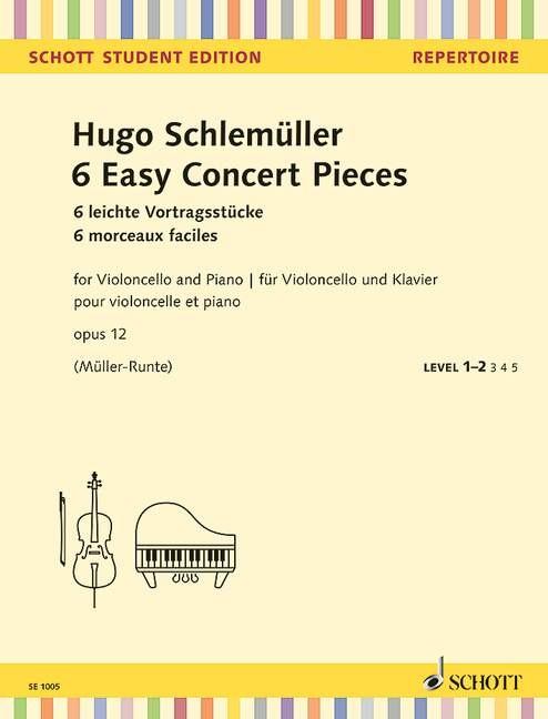 Schlemüller, Hugo: 6 leichte Vortragsstücke