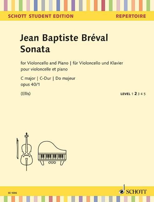 Breval Jean Baptiste: Sonate C-Dur op 40/1