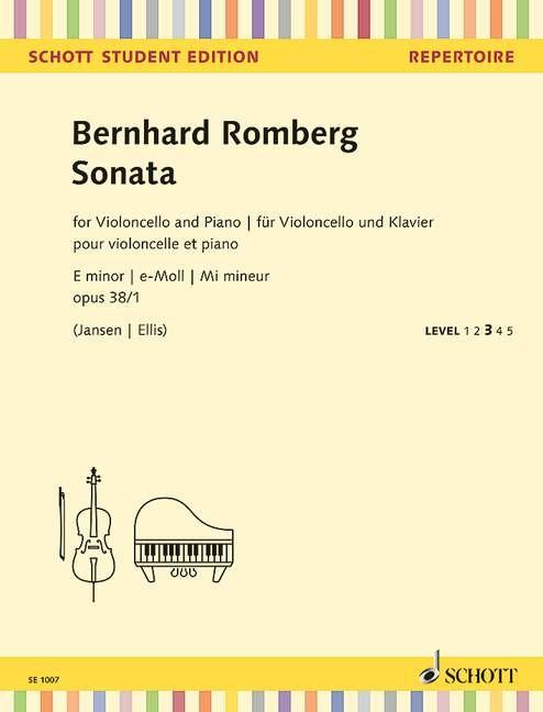 Romberg Bernhard: Sonate e-moll op 38/1