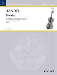 Haende,l Georg Friedrich: Sonate G-Moll