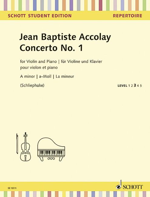 Accolay Jean Baptiste: Konzert 1 a-moll