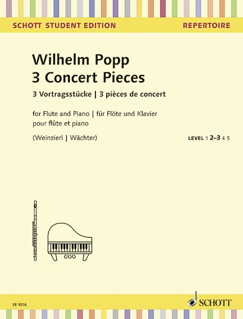 Popp Wilhelm: 3 Vortragsstücke