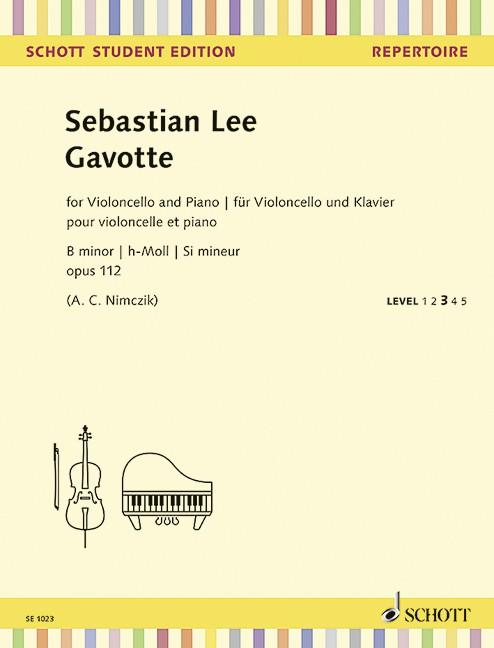 Lee Sebastian: Gavotte h-moll op 112
