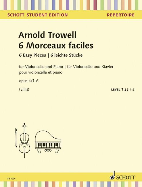 Trowell Arnold: 6 morceaux faciles op 4