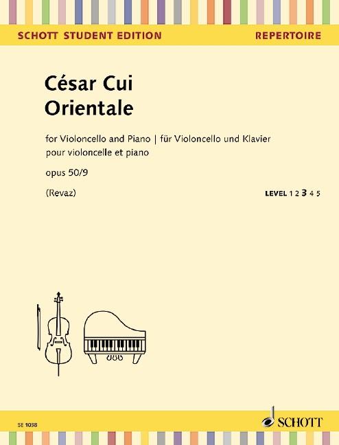 Cui, Cesar [César] (1835-1918): Orientale op 50/9