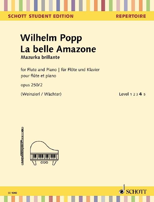 Popp Wilhelm: La belle amazone