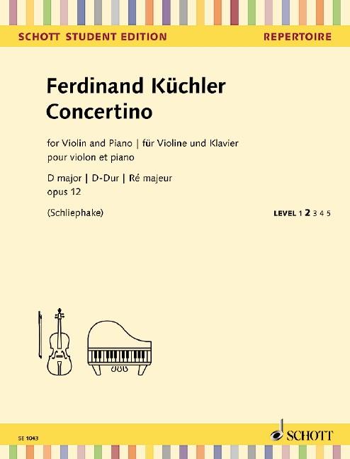 Kuechler Ferdinand: Concertino D-Dur op 12