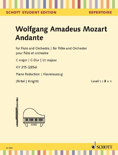 Mozart Wolfgang Amadeus: Andante C-Dur KV 315 (285e)