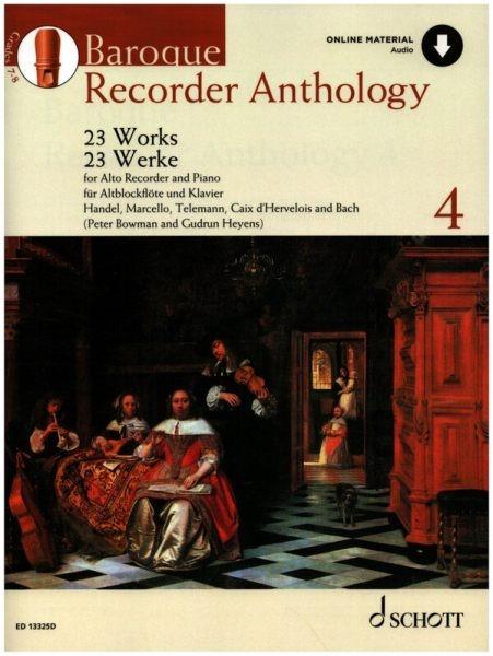 Heyens, Gudrun: Baroque recorder anthology 4
