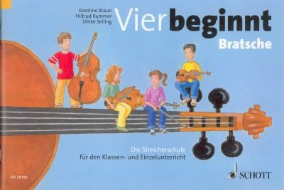 Braun, Karoline u.a.: Vier beginnt - Viola