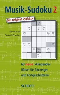 Puertas, Bernat: Musik-Sudoku Bd. 2