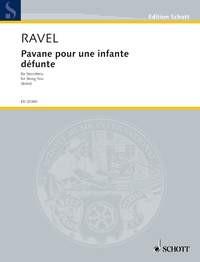 Ravel, Maurice: Pavane pour une infante défunte