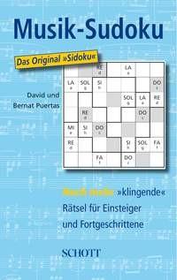Puertas, David + Puertas, Bernat: Musik-Sudoku Bd. 3