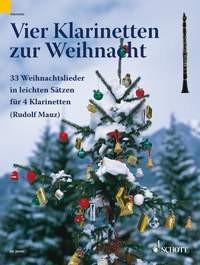 Mauz, Rudolf (Bearb.): Vier Klarinetten zur Weihnacht