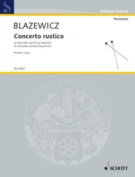 Blazewicz M: Concerto rustico