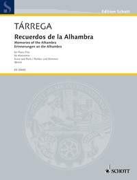 Tárrega, Francisco: Recuerdos de la Alhambra