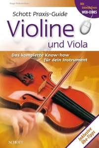 Pinksterboer, Hugo: Praxis-Guide Violine und Viola
