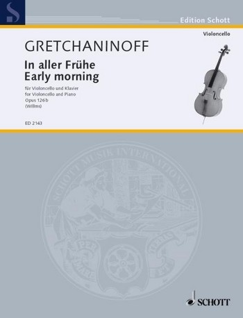 Gretchaninoff Alexander: In aller Frühe op 126b