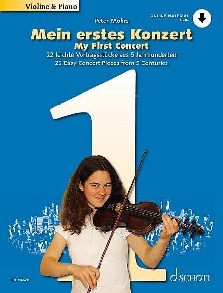Mohrs, Peter: Mein erstes Konzert