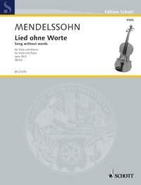 Mendelssohn Bartholdy, Felix: Lied ohne Worte, op. 30/3