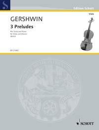 Gershwin, George (1898-1937): 3 Preludes