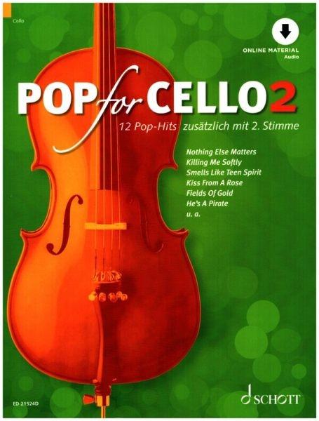 Zlanabitnig, Michael (Bearb.): Pop for cello 2