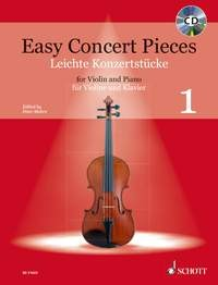 Mohrs, Peter (Hrsg.): Easy Concert Pieces Band 1