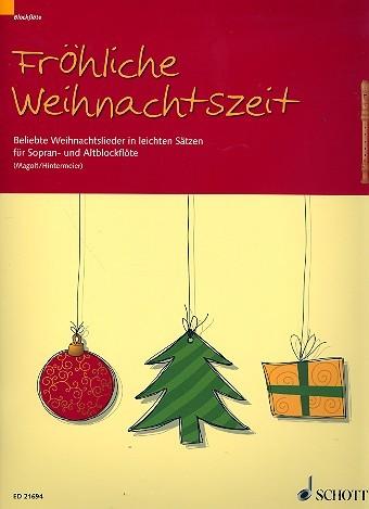 Hintermeier, Barbara + Magolt, Marianne (Hrsg: Fröhliche Weihnachtszeit