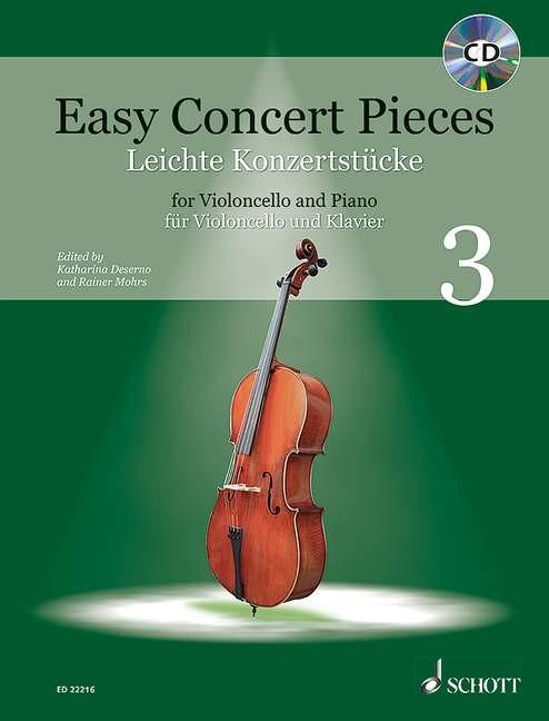 Mohrs, Rainer / Deserno, Katharina: Easy Concert pieces 3