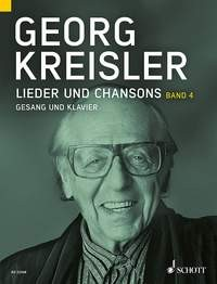 Kreisler Georg: Lieder und Chansons 4