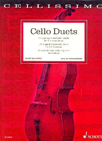 Mohrs, Rainer (Hrsg.): Cello Duets