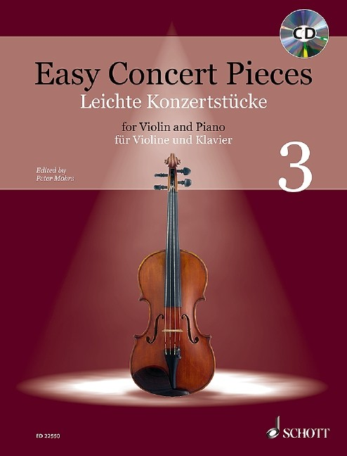 Mohrs, Peter: Easy Concert pieces 3