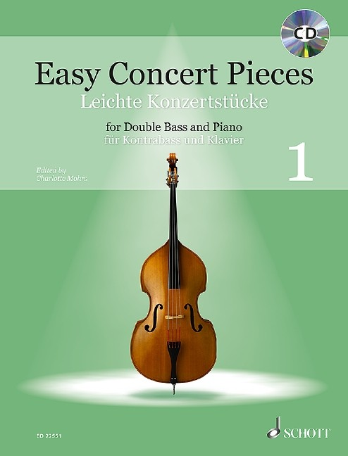 Mohrs, Charlotte: Easy Concert pieces 1