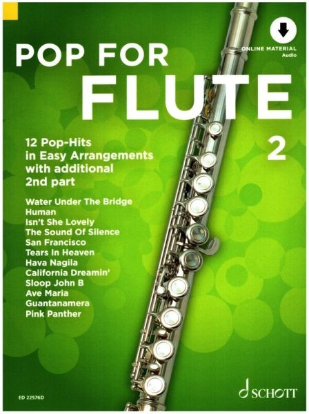 Bye, Uwe (Bearb.): Pop for Flute 2