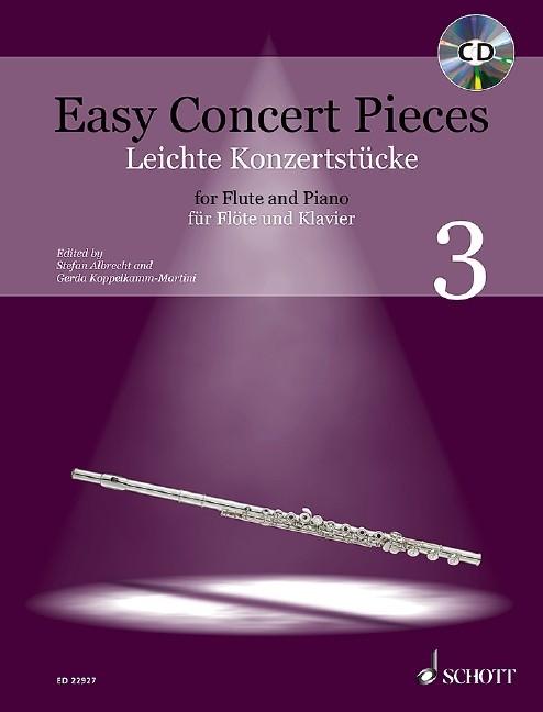 Koppelkamm-Martini, Gerda / Albrecht, Stefan: Easy Concert pieces 3