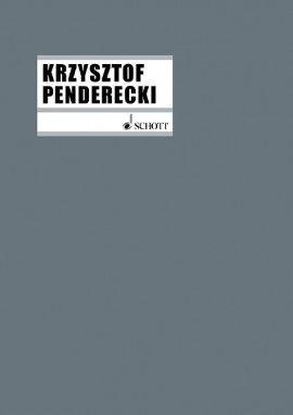 Penderecki, Krzysztof (1933): Sinfonien
