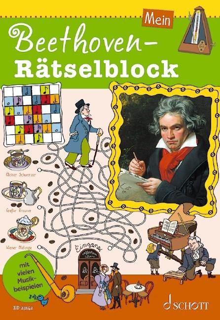 Blaschke, Maren: Mein Beethoven Rätselblock