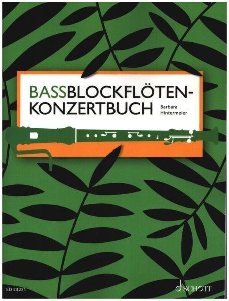 Hintermeier Barbara: Bassblockflötenkonzertbuch