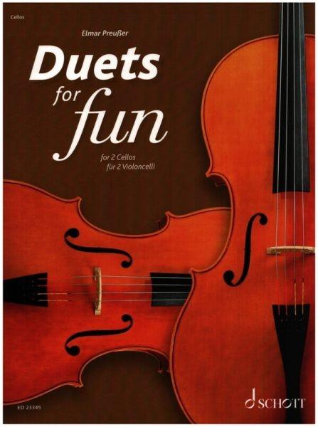 Preußer, Elmar (Hrsg.): Duets for fun: Cellos