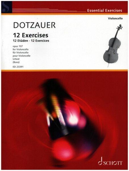Dotzauer Justus Johann Friedrich: 12 Etüden op107