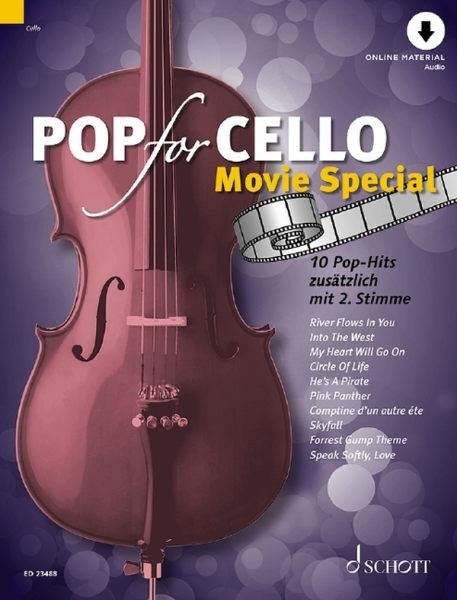 Zlanabitnig, Michael (Hrsg.): Pop for Cello - Movie special