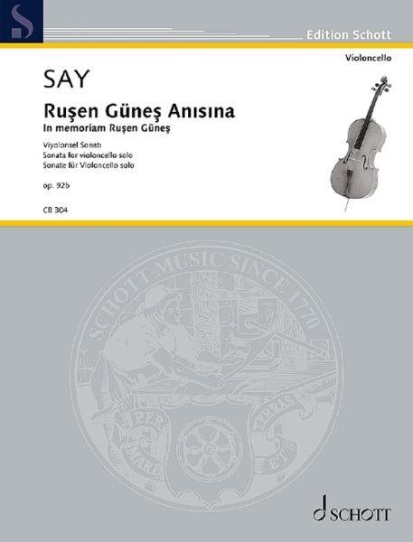 Say Fazil: Rusen Günes Anisina op.92b