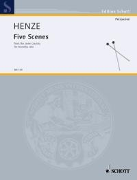 Henze Hans Werner: 5 Scenes From The Snow Country
