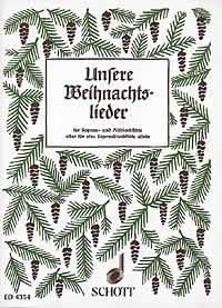 Melkus, Eduard: Unsere Weihnachtslieder