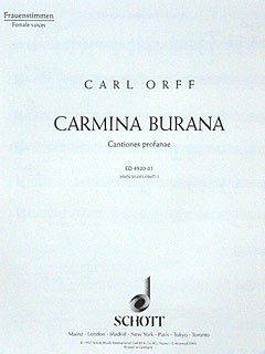 Orff, Carl: Carmina Burana - Timpani e Batteria